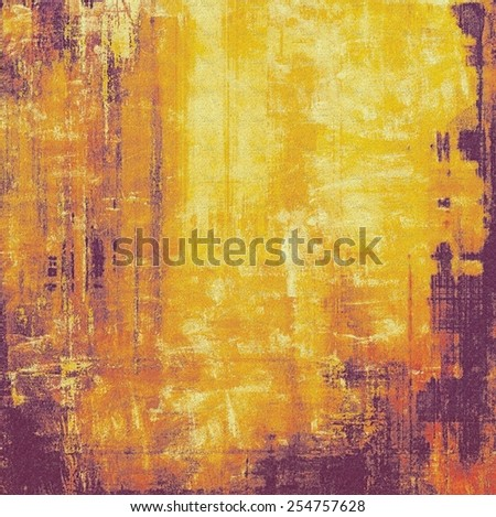 Antique vintage texture or background. With different color patterns: yellow (beige); brown; purple (violet); red (orange) - stock photo