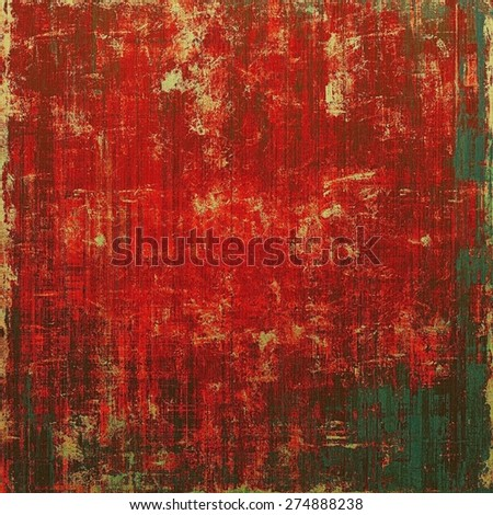 Antique vintage textured background. With different color patterns: brown; gray; pink; red (orange)