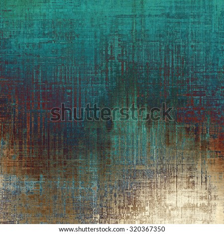 Antique vintage textured background. With different color patterns: yellow (beige); brown; purple (violet); blue - stock photo