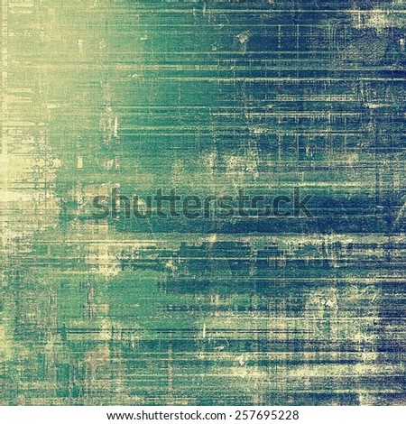 Antique vintage textured background. With different color patterns: yellow (beige); cyan; green; blue - stock photo