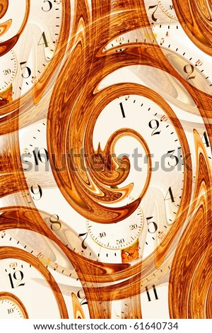 Antique watch face time abstract - stock photo