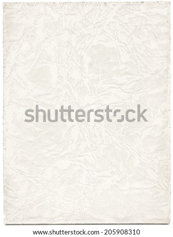 Antique white paper photograph cover background - stock photo