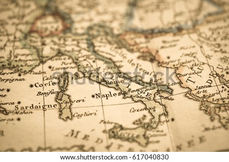 Antique world map italy stock photo safe to use 617040830 antique world map italy gumiabroncs Gallery