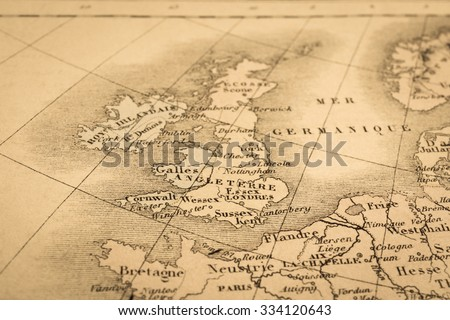 Old map england stock images royalty free images vectors antique world map united kingdom gumiabroncs