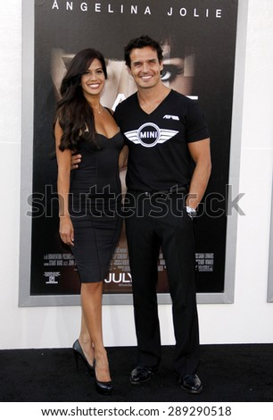 """Antonio Sabato Jr at the Los Angeles premiere of 'Salt"""" held at the Grauman's Chinese Theatre in Hollywood on July 19, 2010. - stock photo"""