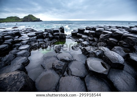 Antrim Coast and Glens, Northern Ireland  - stock photo