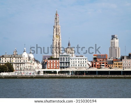 Antwerp, Belgium, city view