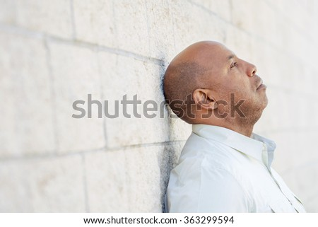 Anxiety  - stock photo