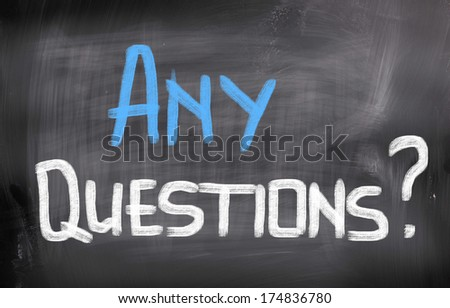 Any Questions Concept - stock photo