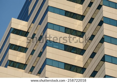 apart of huge building - stock photo