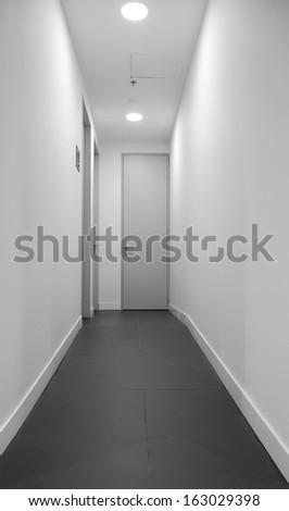 Apartment entrance. - stock photo