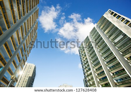 Apartment house - stock photo