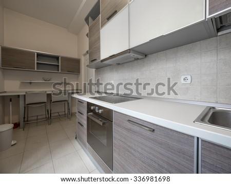 Apartment kitchen - stock photo