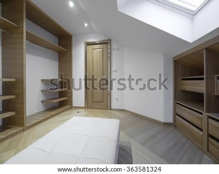 Apartment wardrobe - stock photo