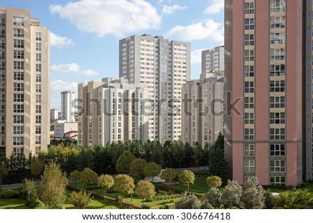 Apartments - stock photo