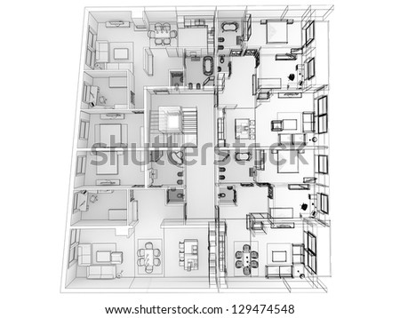Stock images royalty free images vectors shutterstock for Apartment design process