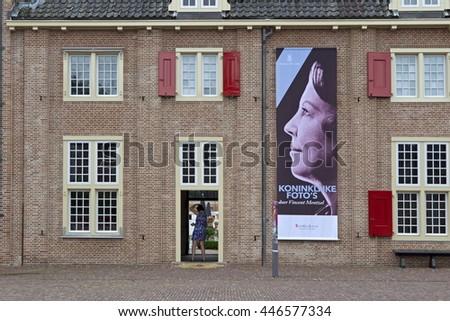 Apeldoorn, Netherlands, June 30, 2016: Royal Palace Het Loo in Apeldoorn, Netherlands - stock photo