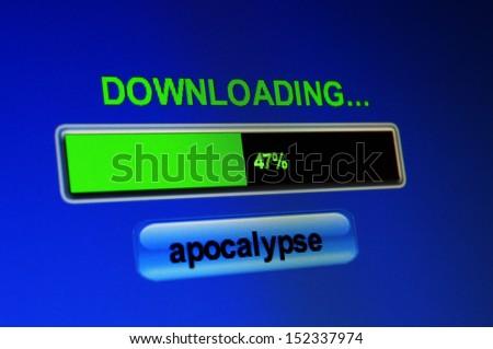Apocalypse download - stock photo