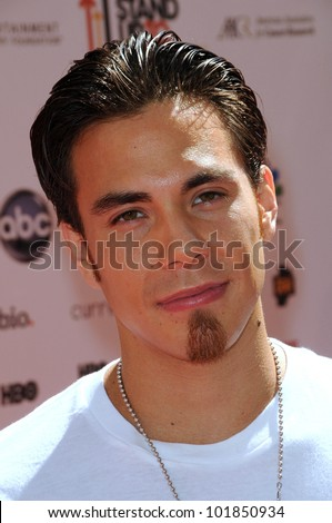 Apolo Ohno at the 2010 Stand Up To Cancer, Sony Studios, Culver City, CA. 09-10-10
