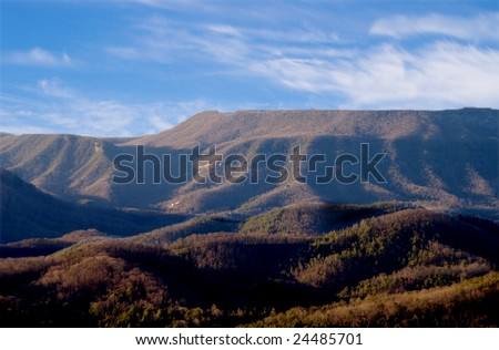 Appalachian Mountains - Late Afternoon