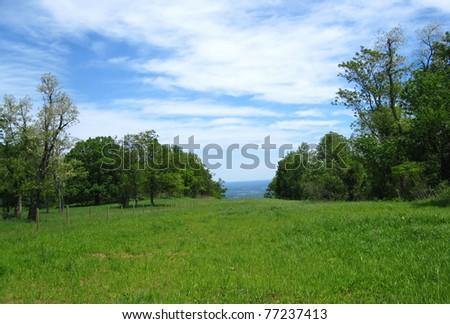 Appalachian Trail in Virginia - stock photo