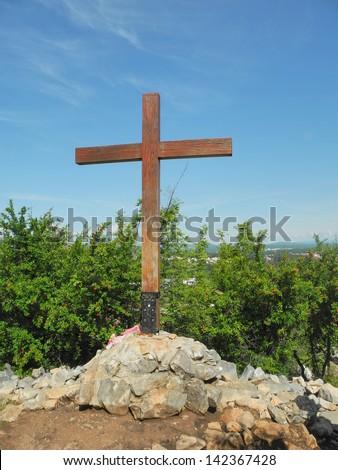 Apparition hill - stock photo