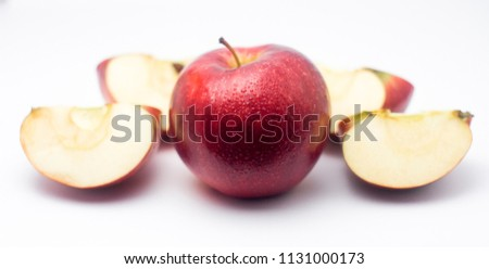 stock-photo-apple-and-apple-slices-isola