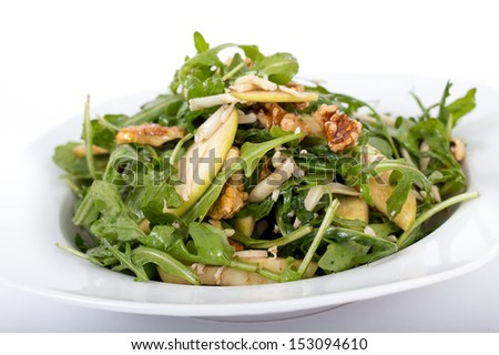 apple and nut salad