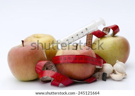 Apple as a lifestyle - stock photo