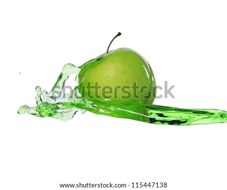 apple in juice