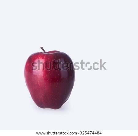 apple or red apple on a background - stock photo