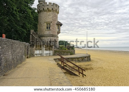 Appley Tower - Ryde | Isle of Wight (UK) - stock photo