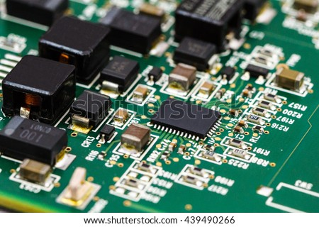 Application Specific Integrated Circuit Ics Chip Stock