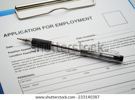 Apply for new job by Application Document