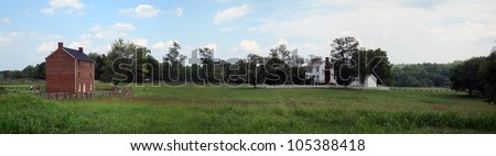 Appomattox Court House National Historical Park - stock photo