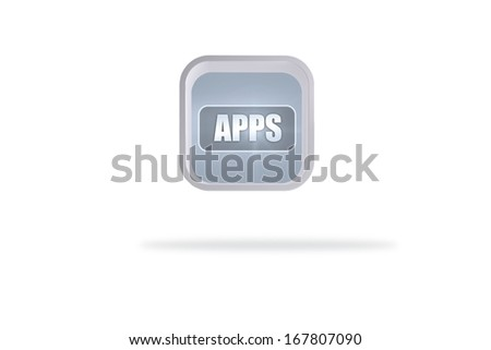 Apps banner on abstract screen
