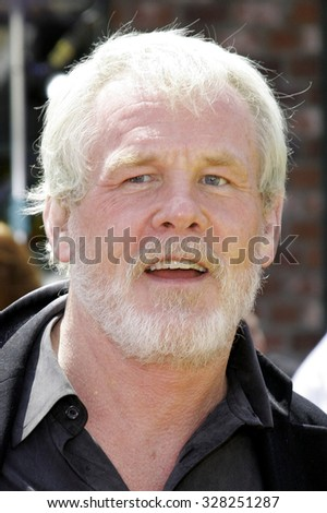 "April 30, 2006. Nick Nolte attends the Los Angeles Premiere of DreamWorks' new computer-animated comedy ""Over The Hedge"" held at the Mann Village Theatre in Westwood, California United States."