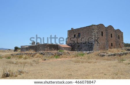 Aptera Archeological Site / Tourist Attraction near Chania, Crete