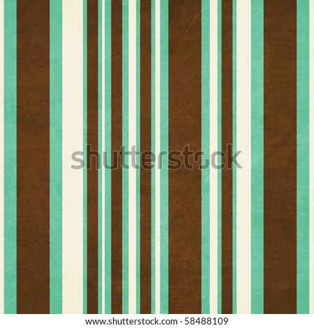Aqua and Brown Collection Stripe Background