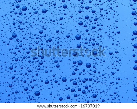 aqua water and bubbles rising wallpaper background
