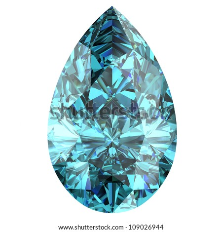 aquamarine - stock photo