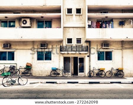 arab building - stock photo