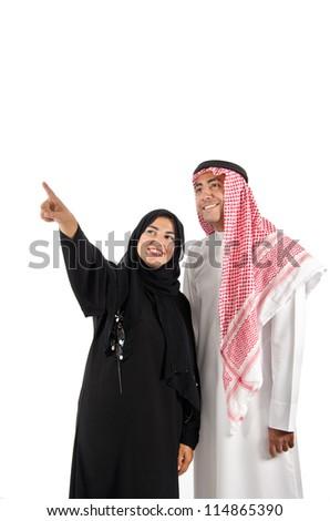Arab Couple - stock photo