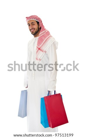 Arab Man Shopping