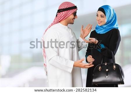 Arab, saudi, gulf. - stock photo