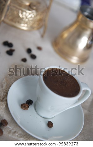 Arabian coffee - stock photo
