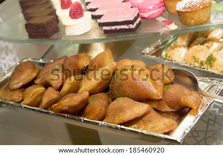 Arabian Dessert - Ramadan Dessert  - stock photo