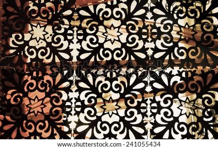 Arabic Background  - stock photo