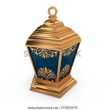 Arabic Lantern - stock photo