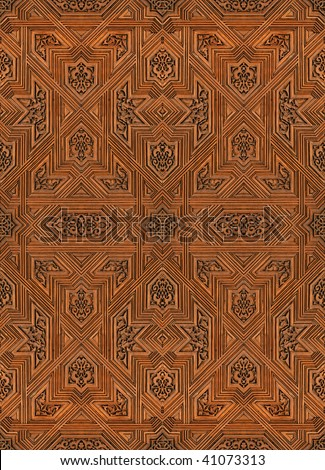 Mexican Background Pattern Stock Vector 356371781